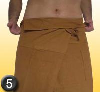 comment mettre son pantalon thai - phase 5