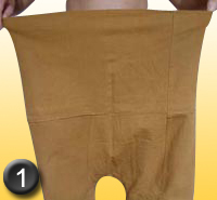 comment mettre son pantalon thaï - phase 1
