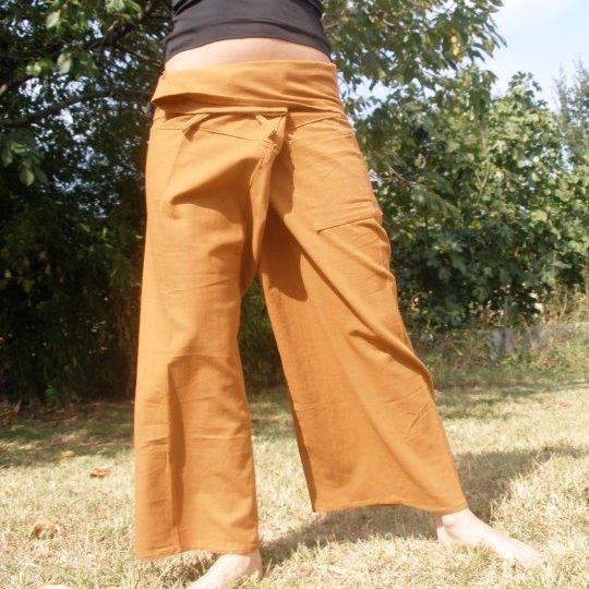 pantalon thai caramel