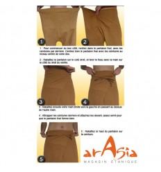 Pantalon Bicolore ARASIA Mode d'Emploi