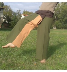 Pantalon Thai XL Tricolore