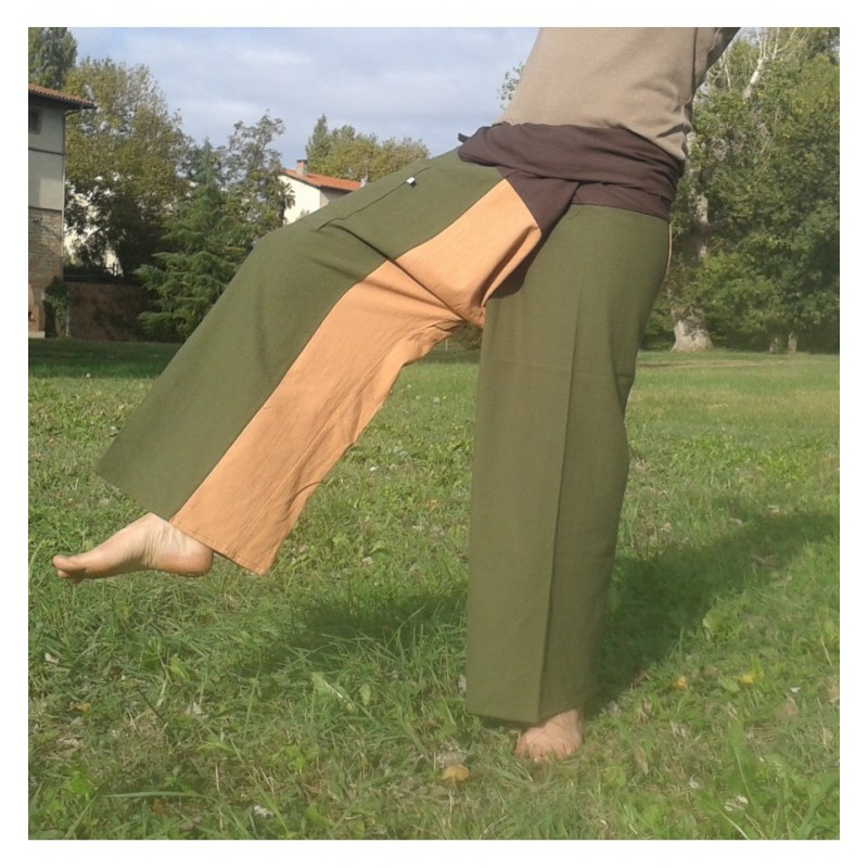 Three Tone Fisherman pants XL