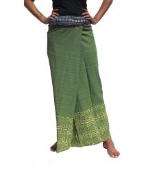 Falda Tailandesa Larga Impreso
