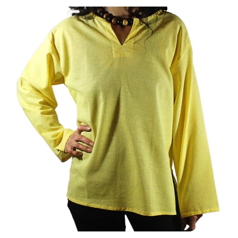 Camiseta Tailandesa Ligera amarilla