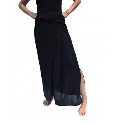 black rayon thaï skirt