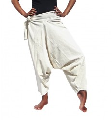 Light Cream Harem Pants
