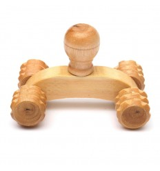 Masajista cuatro ruedas