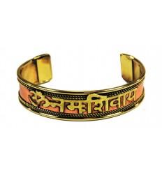 copper bracelet om