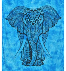 blue elephant large hanging