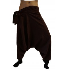 Dark Brown Harem Pants