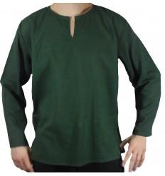 Chemise Coton Verte