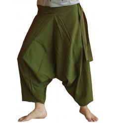 Khaki Harem Pants