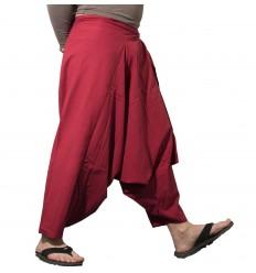 Dark Red Harem Pants