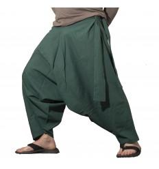 Dark Green Harem Pants