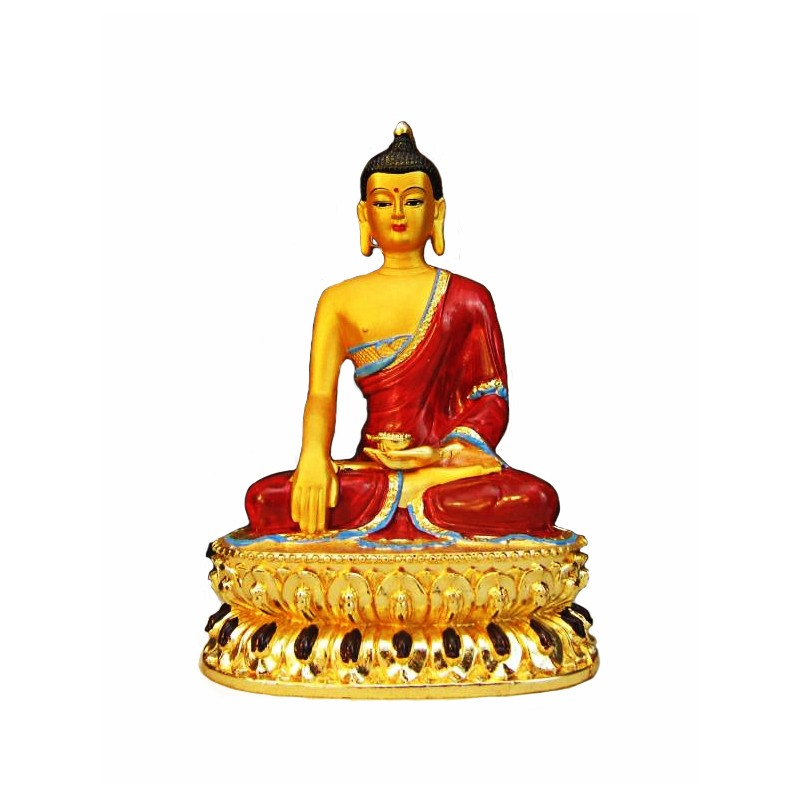Red and Gold Buddha