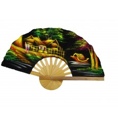 hand decorated fan
