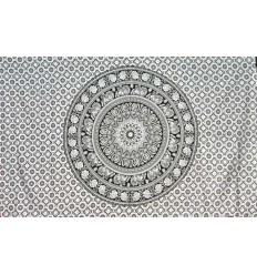 bLACK mandala hanging