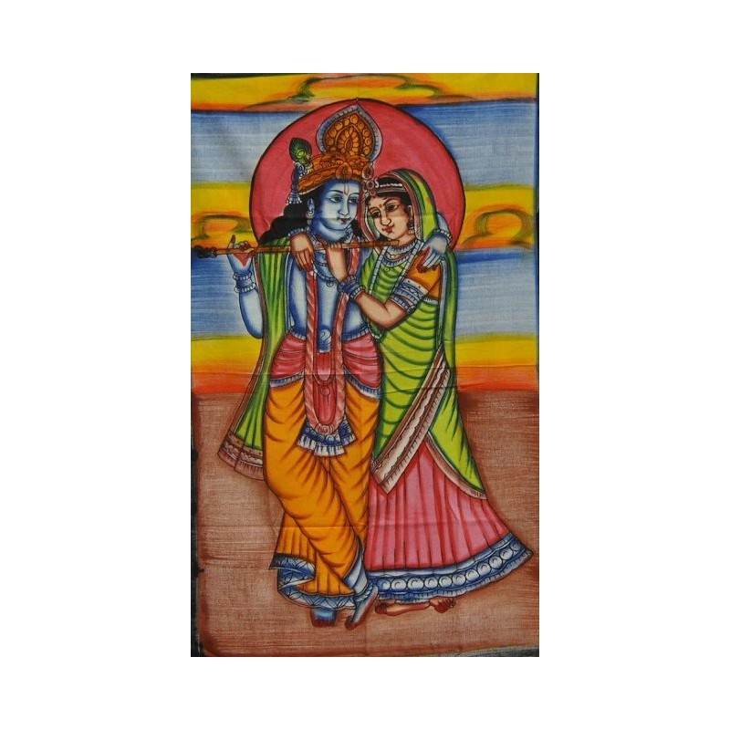 mini hanging Radha and Krishna