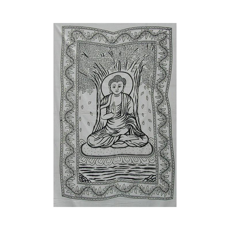 Colgando buddha blanco