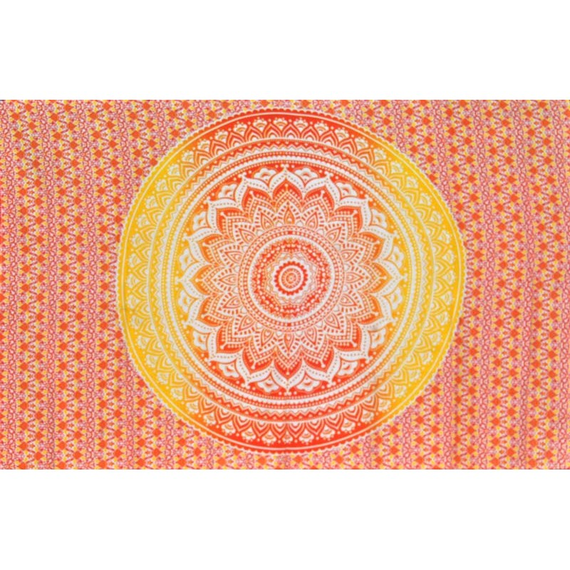 Red Mandala Wall Hanging
