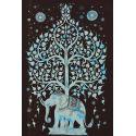 Tapiz elefante azul