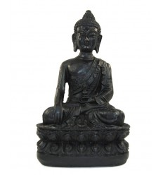 Black Resin Buddha