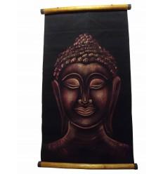 Parchemin Bouddha Brun