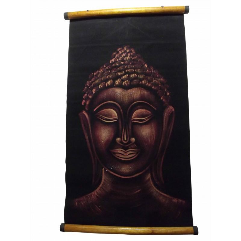 Parchemin Bouddha Orange