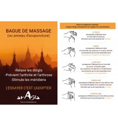anillo de masaje tutorial Arasia