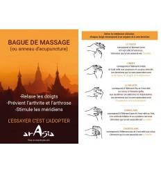 Bague Massage Tutoriel