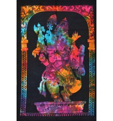 multicolour ganesh wall hanging