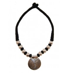 Black Tibetan Necklace