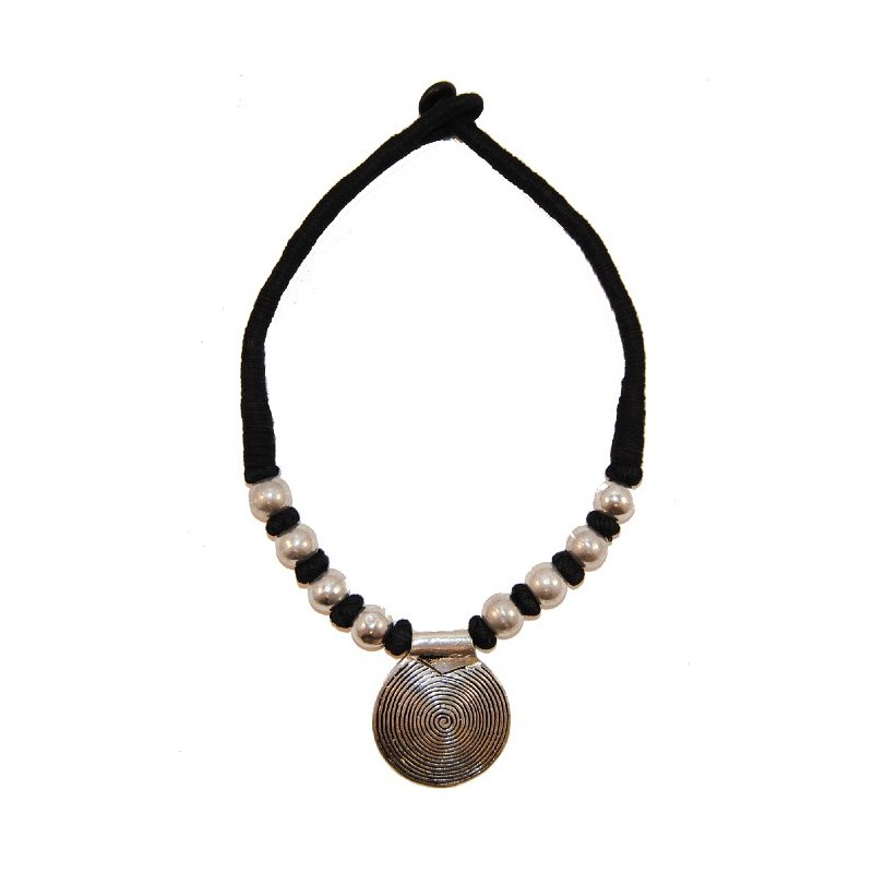 Collier Tibétain Noir
