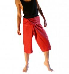 Red Striped Capris