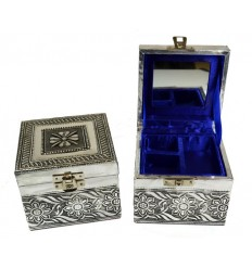 boîte bijoux carrée
