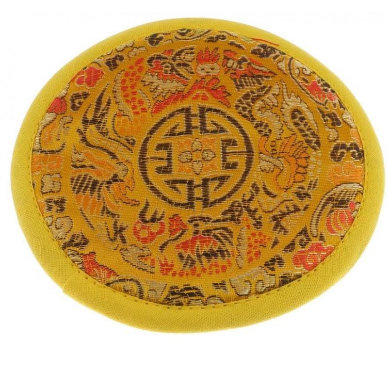 Tibetan Bowl Carpet (yellow)