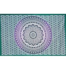 green mandala wall hanging