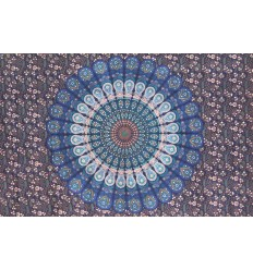 blue mandala wall hanging