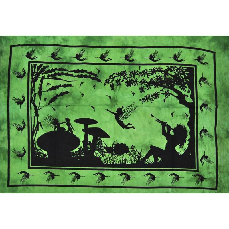 tapiz hada verde