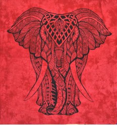 red elephant large hanging