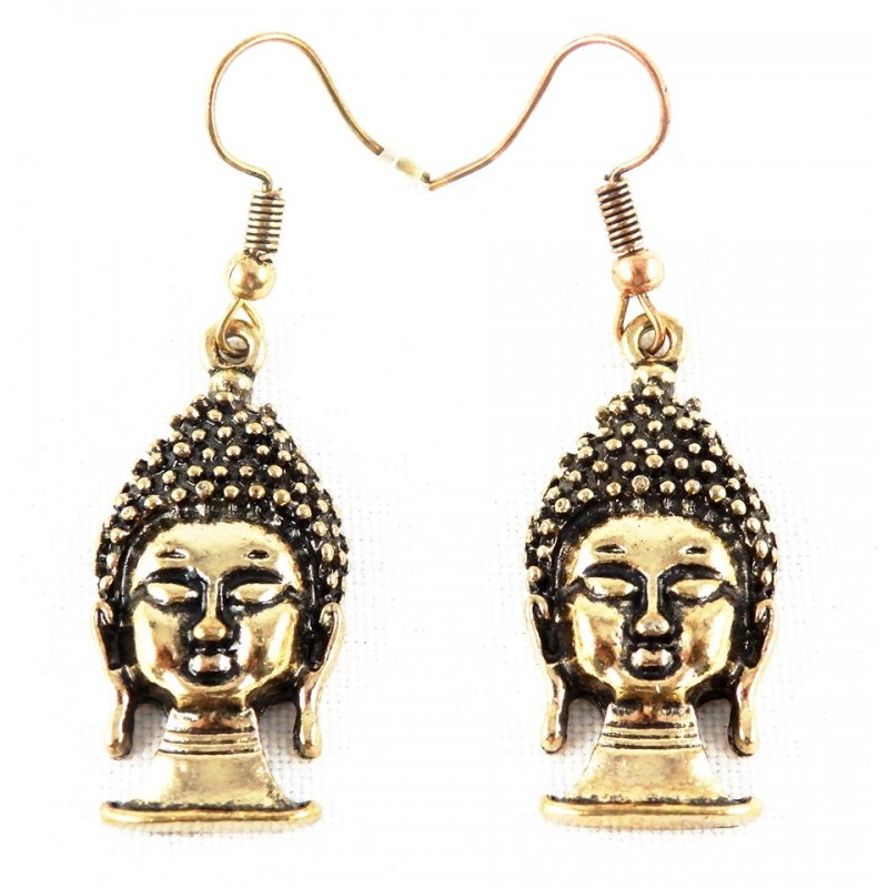 Boucles d'Oreille Bouddha