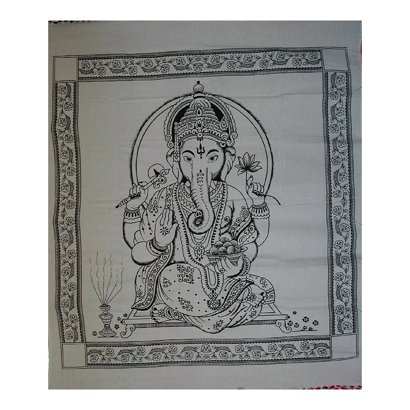 Large Ganesh Wall Hanging