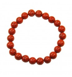 red jasper bracelet