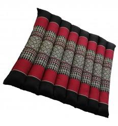 Dark Red and Black Cushion of Meditation