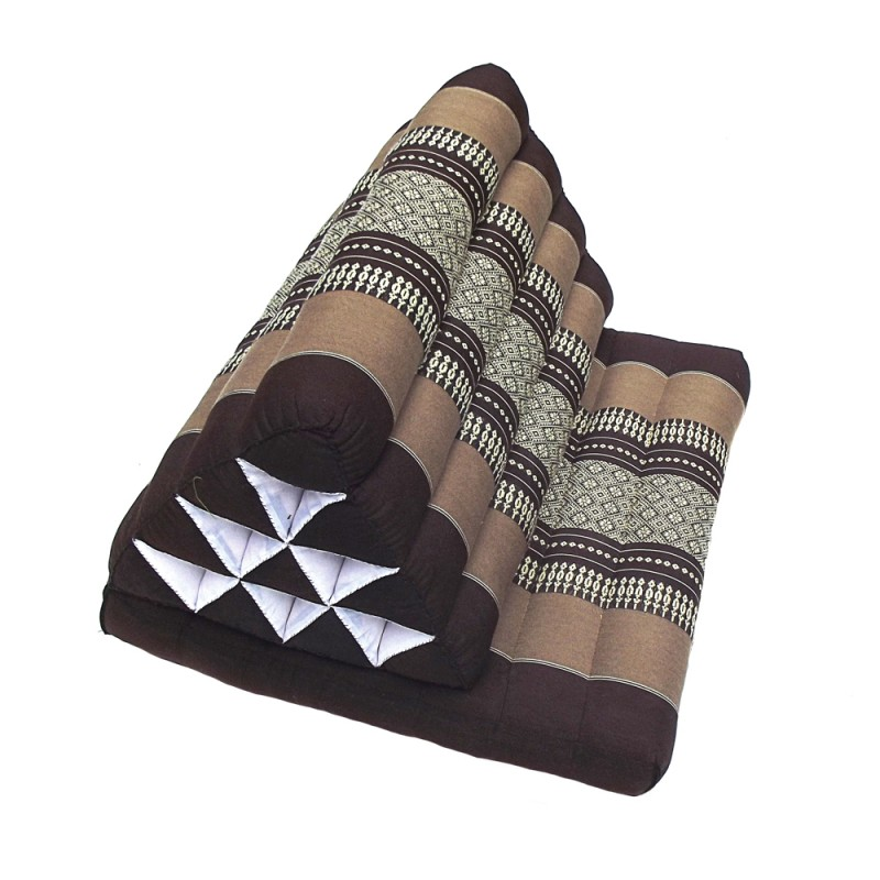 Almohada triangular Tailandes negro