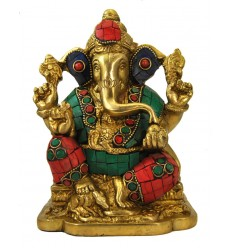 Colored Ganesh