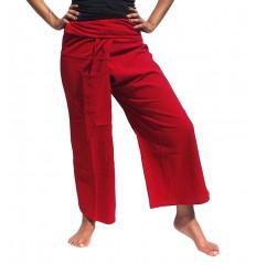 XL Fisherman Pants - Red
