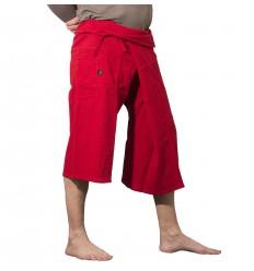 Red Thai Capris