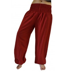 Pantalon Yoga Bordeaux