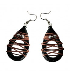 Earrings Mango Wood